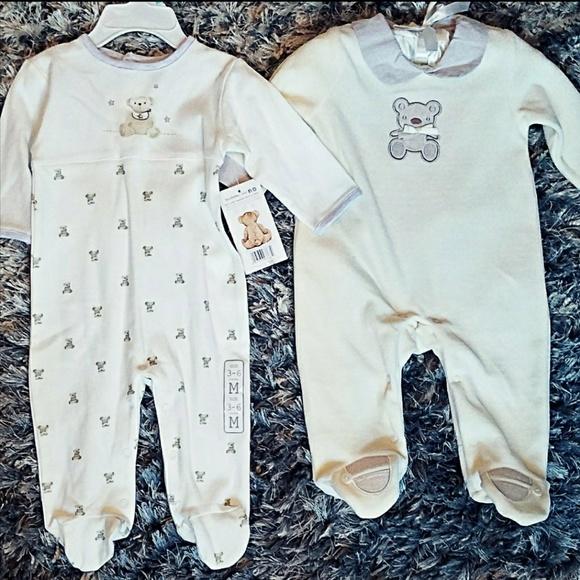a15b3a028 Rene Rofe One Pieces | Baby Boy 2 Piece Layette Bundle Comfty Pajama ...